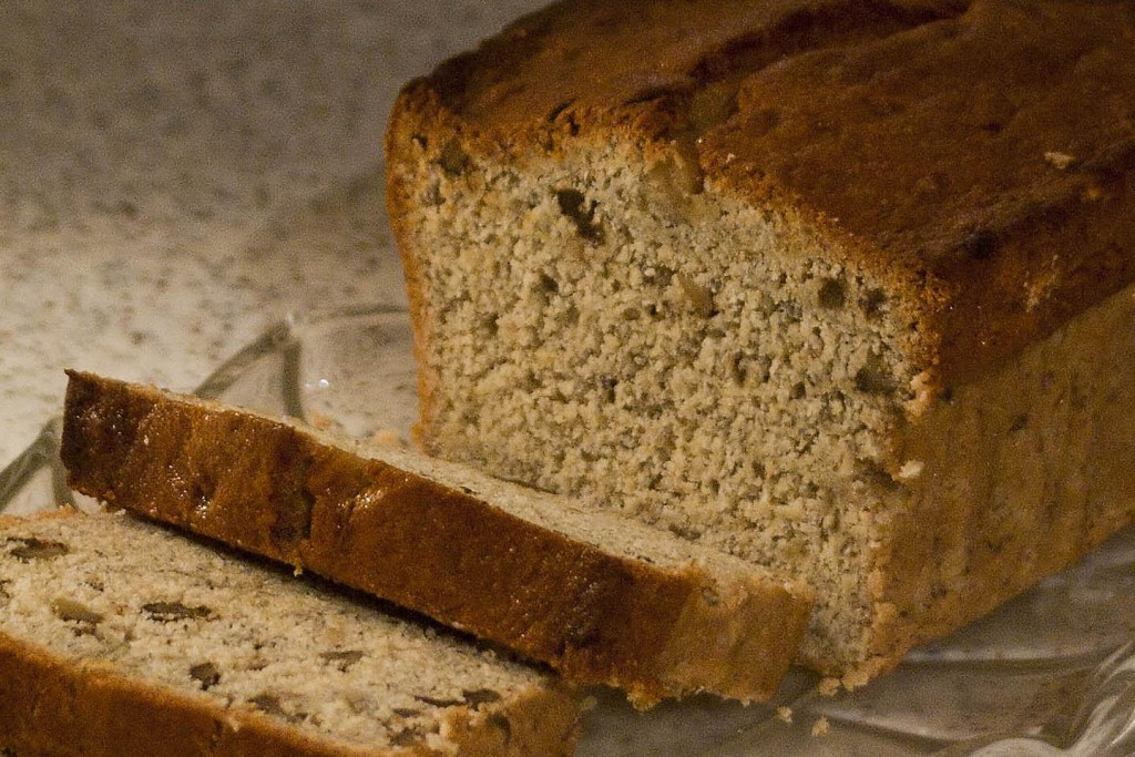 Protein Banana Pumpkin Bread